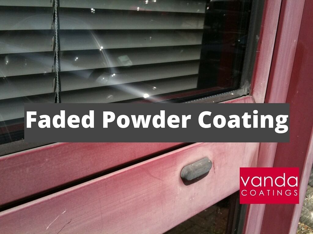 Faded Powder Coating