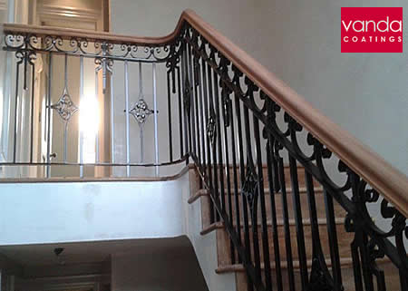 refurbishing balustrade