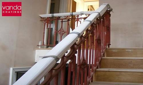 staircase spraying