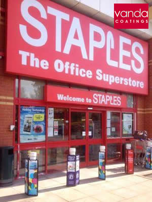 staples shopfront