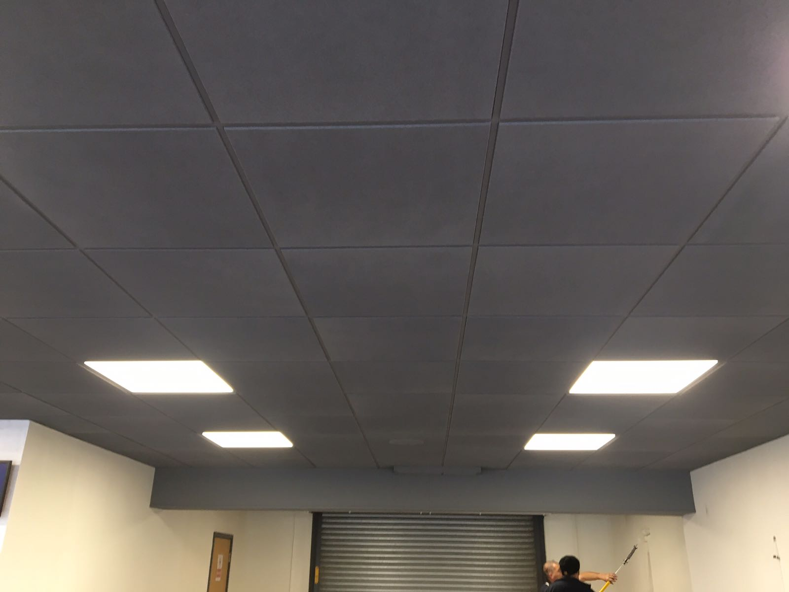 Suspended Ceiling Spraying