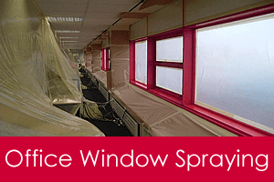 office window spraying service