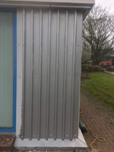 Cladding Following Paint Removal
