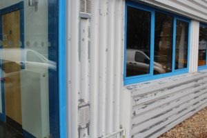 External Metal Cladding Paint Failure