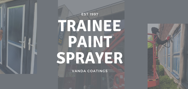 trainee paint sprayer